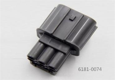 6 way Sumitomo 6181-0074 HW sealed series 2.3mm(090) male housing connector