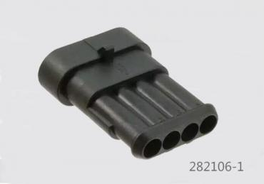 TE Connectivity Superseal 1.5 series connector 282106-1 4P male housing waterproof IP67