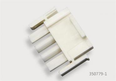 4 pin Tyco electronics connectors plug 350779-1