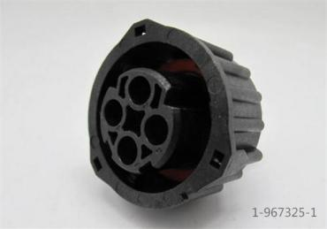 4 pin 2.5mm AMP 1-967325-1 waterproof connector