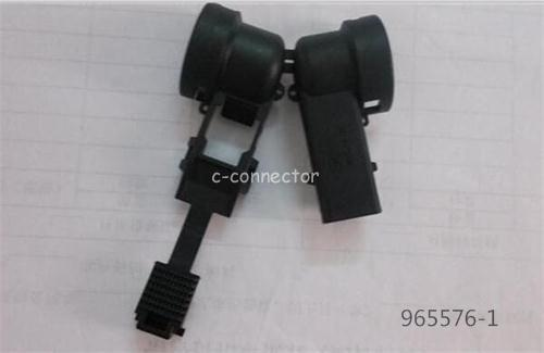 AMP 965576-1 connector cover cable exit 90 right angle