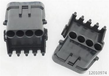 Delphi 4 way connector 12010974 male housing