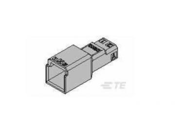 TE AMP 1-1903129-2 2 pins    housing connector
