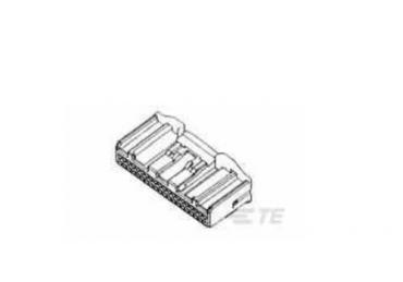 TE AMP 1318389-1 40 pins    housing connector