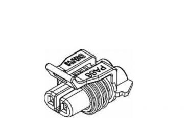 Delphi 12052641 2 way female connector housing
